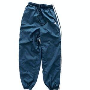 Adidas Vintage Teal Blue Track Pants Joggers Large